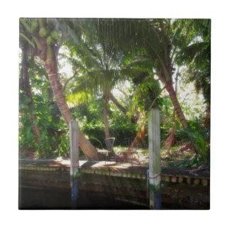 Retreat on Ft Lauderdale's New River Tile