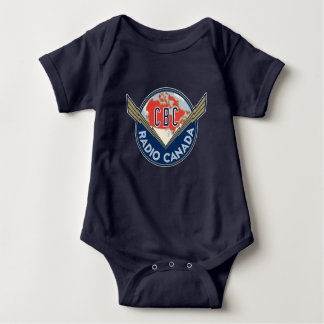 Retro 1940-1958 baby bodysuit