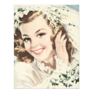 Retro 1940s Bridal Shower Invitation