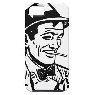 Retro 1950's Cartoon-Style Man iPhone 5 Cases