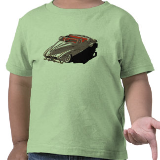 Retro 1950s classic American cars convertible Shirt