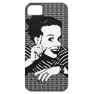 Retro 1950s Scolding Woman iPhone 5 Cover