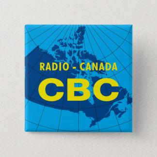 Retro 1958-1966 2 inch square button