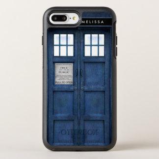 Retro 1960s British Police Phone Call Box OtterBox Symmetry iPhone 8 Plus/7 Plus Case