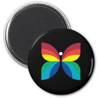 Retro 1966-1974 2 inch round magnet