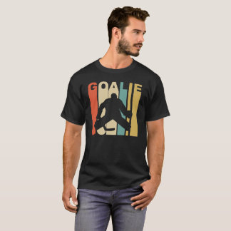 Retro 1970's Style Hockey Goalie T-Shirt
