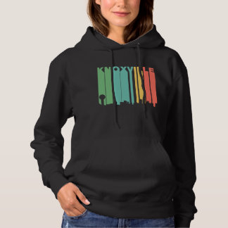 Retro 1970's Style Knoxville Tennessee Skyline Hoodie