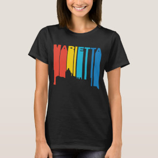 Retro 1970's Style Marietta Georgia Skyline T-Shirt