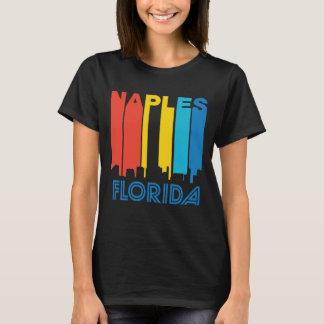 Retro 1970's Style Naples Florida Skyline T-Shirt