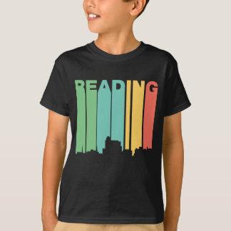 Retro 1970's Style Reading Pennsylvania Skyline T-Shirt