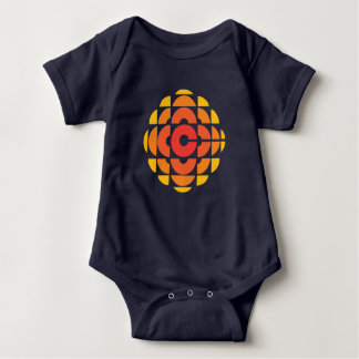 Retro 1974-1986 baby bodysuit