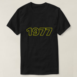 Retro 1977 T-Shirt (yellow)