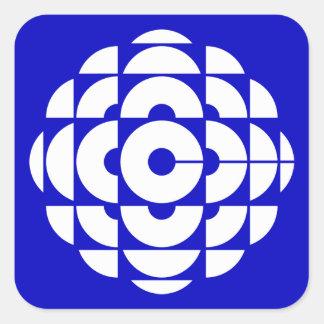 Retro 1986-1992 - White Square Sticker