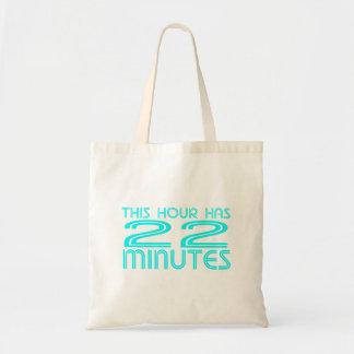 Retro - 22 Minutes Tote Bag