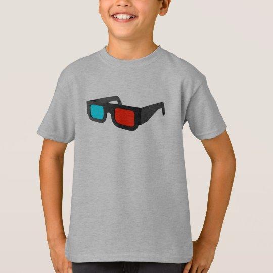 Retro 3D Glasses Graphic T-Shirt