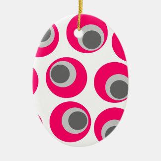 Retro-44 Ceramic Oval Ornament