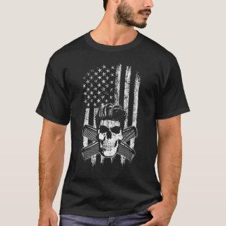Retro 50's American Flag T-Shirt