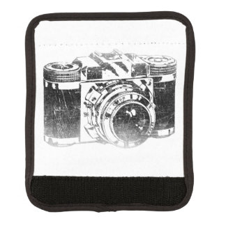 Retro 50's camera luggage handle wrap