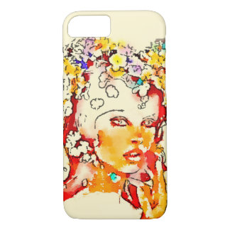 Retro 60s Babe Iphone Case