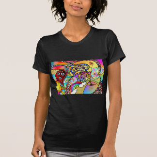 Retro 60s Psychedelic Hearts Paisley Gifts Apparel Tees