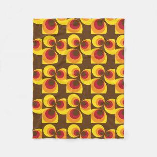 Retro / 70s Chic Fleece Blanket