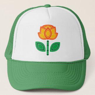 Retro 70s Flower Caps