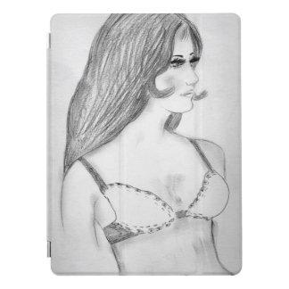 Retro 70s Girl in Bikini Top iPad Pro Cover