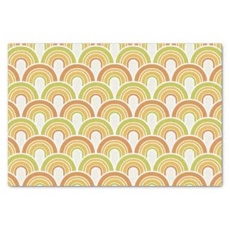 Retro/70s Pattern Tissue Paper