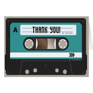 Retro 80s Cassette Mixtape Personalized Cards