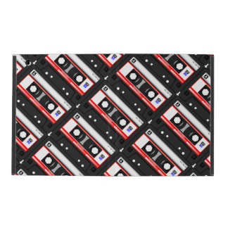 Retro 80's cassette tape covers for iPad