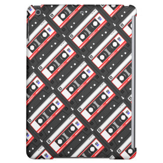 Retro 80's cassette tape iPad air cases