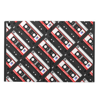 Retro 80's cassette tape iPad air covers