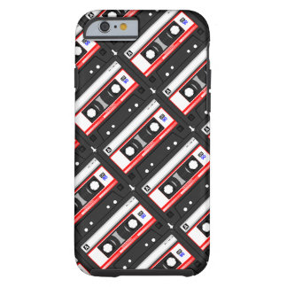 Retro 80's cassette tape tough iPhone 6 case