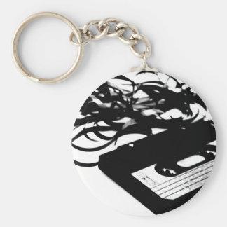 Retro 80's Design - Audio Cassette Tape Keychain