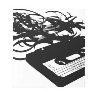 Retro 80's Design - Audio Cassette Tape Notepad