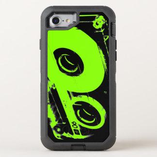 Retro 80's Design - Audio Cassette Tape OtterBox Defender iPhone 7 Case