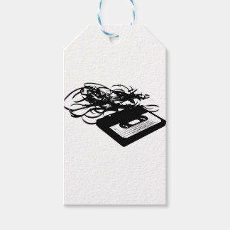 Retro 80's Design - Audio Cassette Tape Pack Of Gift Tags