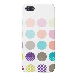 Rétro à petits pois de PixDezines, ♥♥♥♥ fait sur iPhone 5 Case