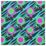 Retro Abstract Polka Dot Pattern Fabric