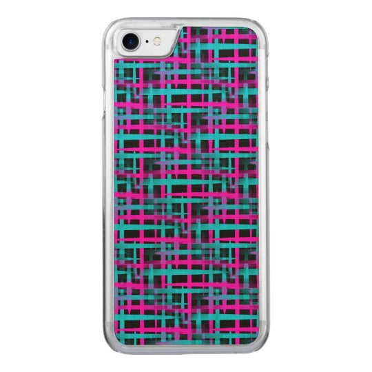 Retro Abstract Weave Pattern Carved iPhone 7 Case