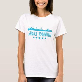 Retro Abu Dhabi Skyline T-Shirt