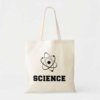 Rétro académie de la Science Sac En Toile Budget