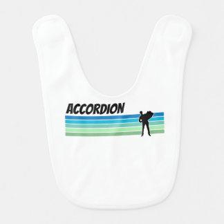 Retro Accordion Baby Bib