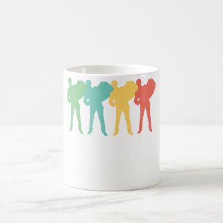 Retro Accordion Pop Art Coffee Mug