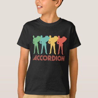 Retro Accordion Pop Art T-Shirt