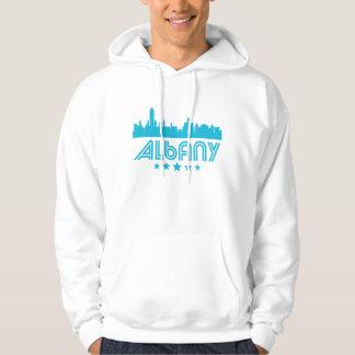 Retro Albany Skyline Hoodie