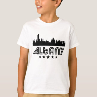 Retro Albany Skyline T-Shirt