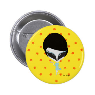 Retro Alien 2 Inch Round Button
