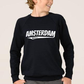 Retro Amsterdam Logo Sweatshirt