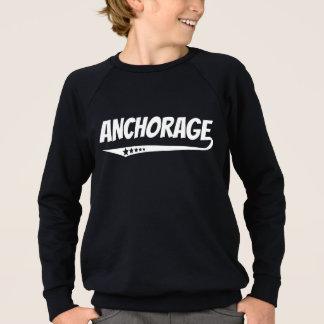 Retro Anchorage Logo Sweatshirt